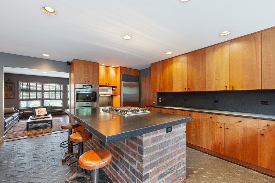Real Estate Photography - 235 Park Ave, Highland Park, IL, 60035 - Kitchen