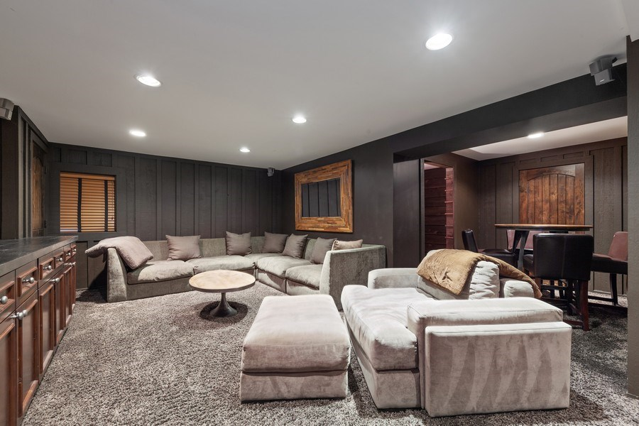 Real Estate Photography - 235 Park Ave, Highland Park, IL, 60035 - Recreational Room