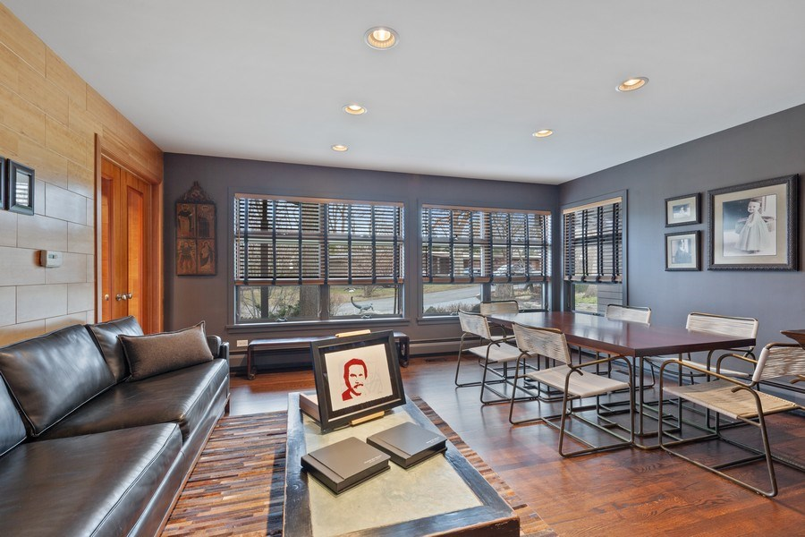 Real Estate Photography - 235 Park Ave, Highland Park, IL, 60035 - Living/Dining Room