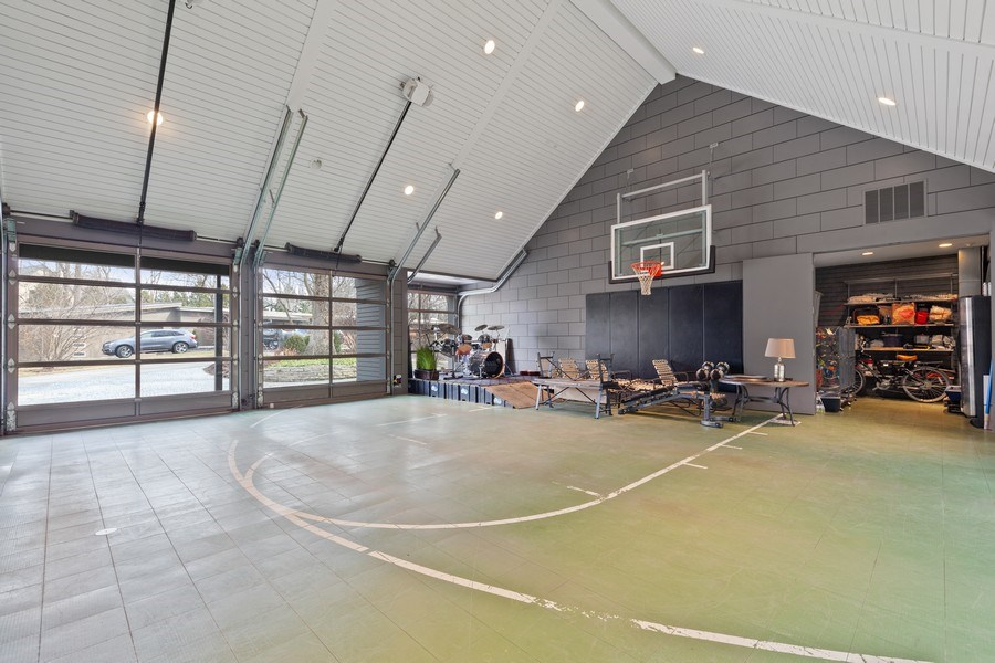 Real Estate Photography - 235 Park Ave, Highland Park, IL, 60035 - Garage