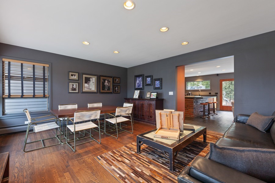 Real Estate Photography - 235 Park Ave, Highland Park, IL, 60035 - Dining Room