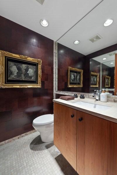 Real Estate Photography - 235 Park Ave, Highland Park, IL, 60035 - Half Bath