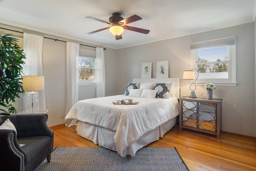 Real Estate Photography - 1530 N Pine Ave, Arlington Heights, IL, 60004 - Master Bedroom