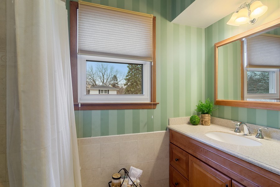 Real Estate Photography - 1530 N Pine Ave, Arlington Heights, IL, 60004 - Bathroom