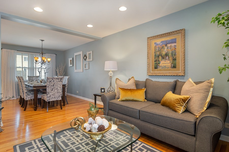 Real Estate Photography - 1530 N Pine Ave, Arlington Heights, IL, 60004 - Living Room / Dining Room