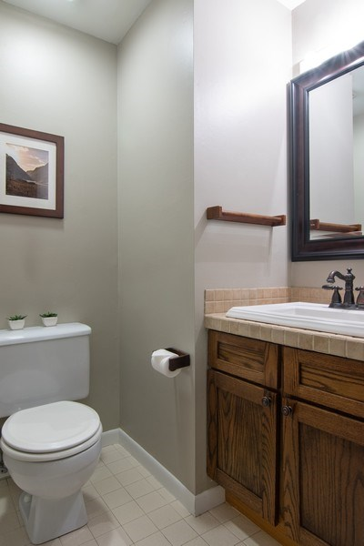 Real Estate Photography - 2646 North Wayne, Unit A, Chicago, IL, 60614 - Powder Room