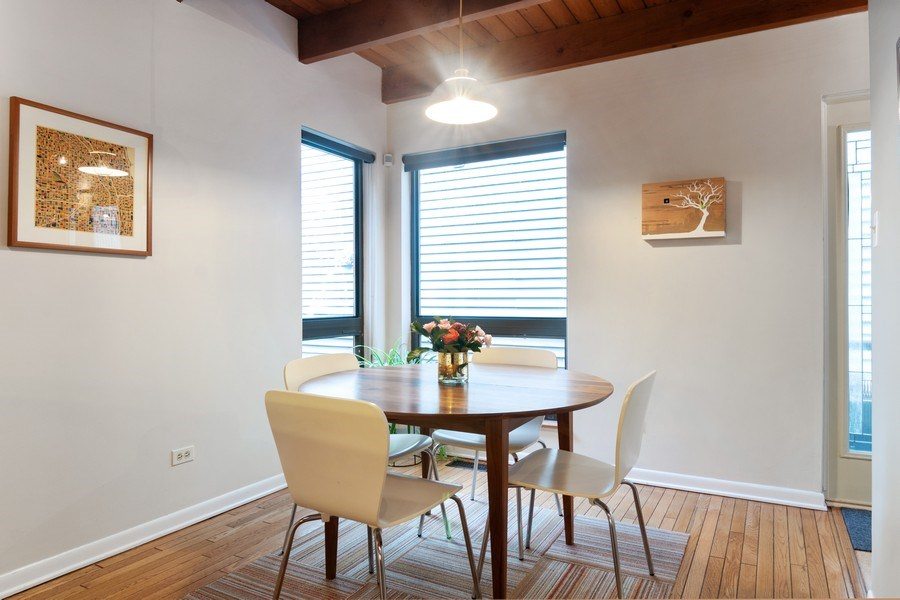 Real Estate Photography - 2646 North Wayne, Unit A, Chicago, IL, 60614 - Dining Room