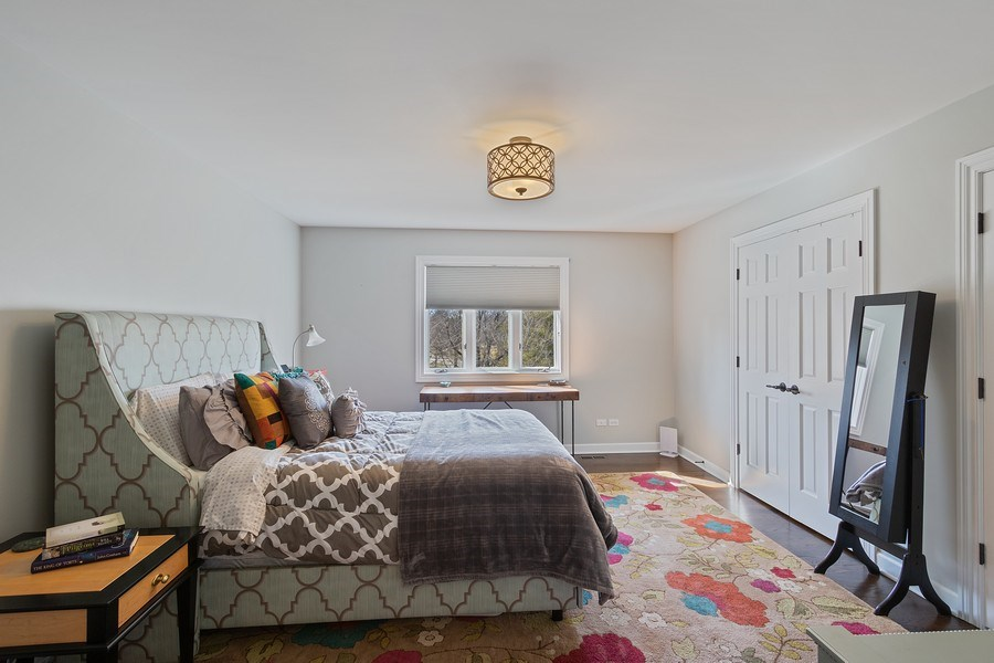 Real Estate Photography - 1085 Windhaven Court, Lake Forest, IL, 60045 - 2nd Bedroom