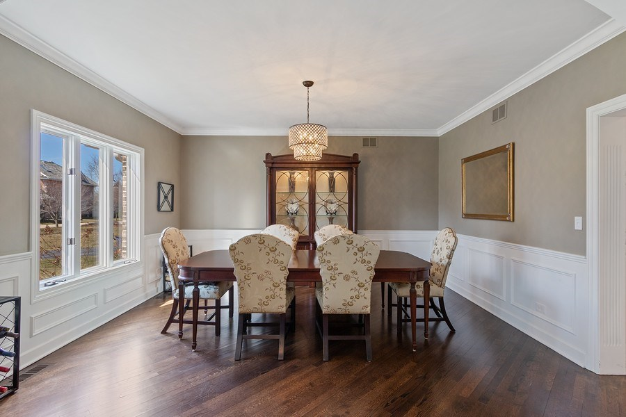 Real Estate Photography - 1085 Windhaven Court, Lake Forest, IL, 60045 - Dining Room