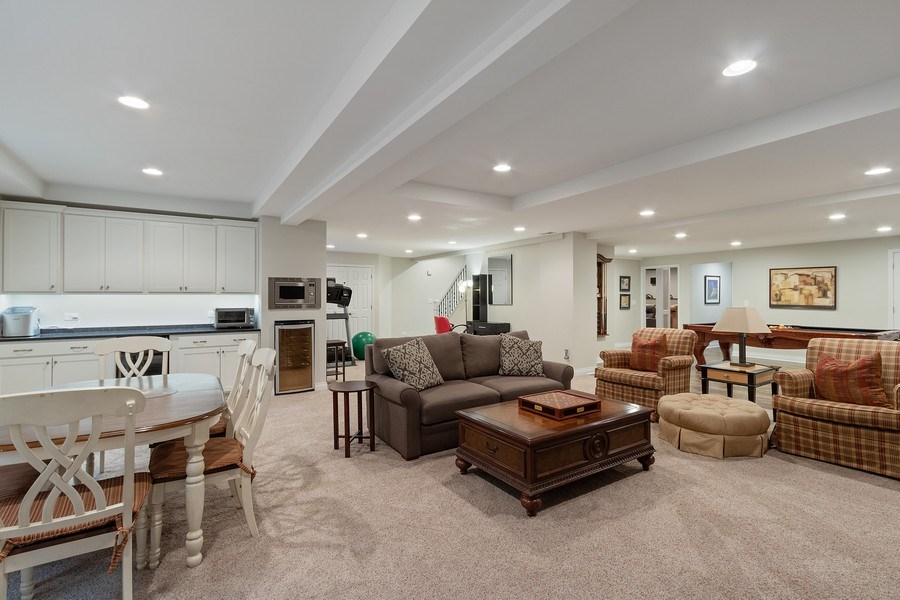 Real Estate Photography - 1085 Windhaven Court, Lake Forest, IL, 60045 - Basement