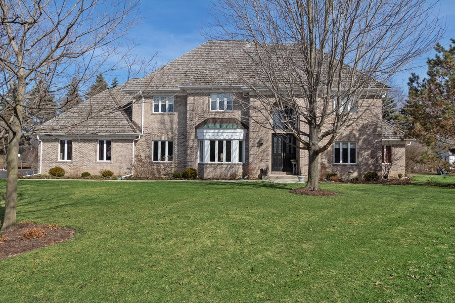 Real Estate Photography - 1085 Windhaven Court, Lake Forest, IL, 60045 - Front View
