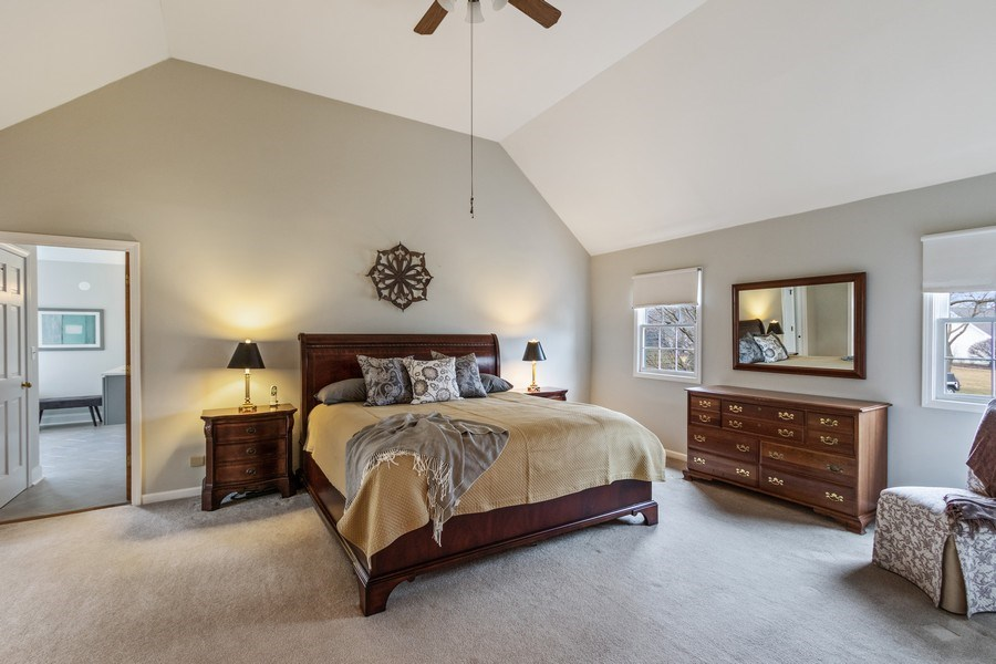 Real Estate Photography - 659 New Bridge Court, Barrington, IL, 60010 - Master Bedroom