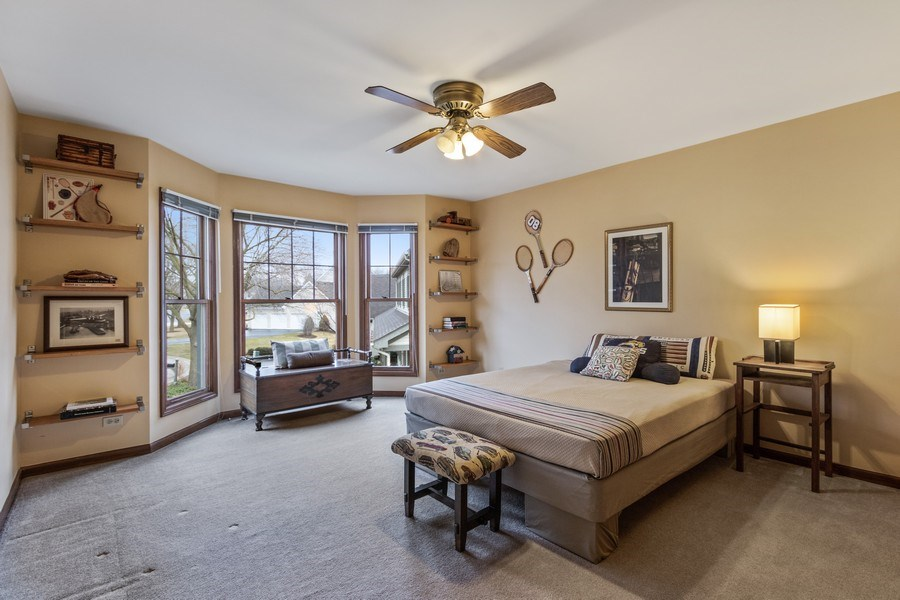 Real Estate Photography - 659 New Bridge Court, Barrington, IL, 60010 - 3rd Bedroom