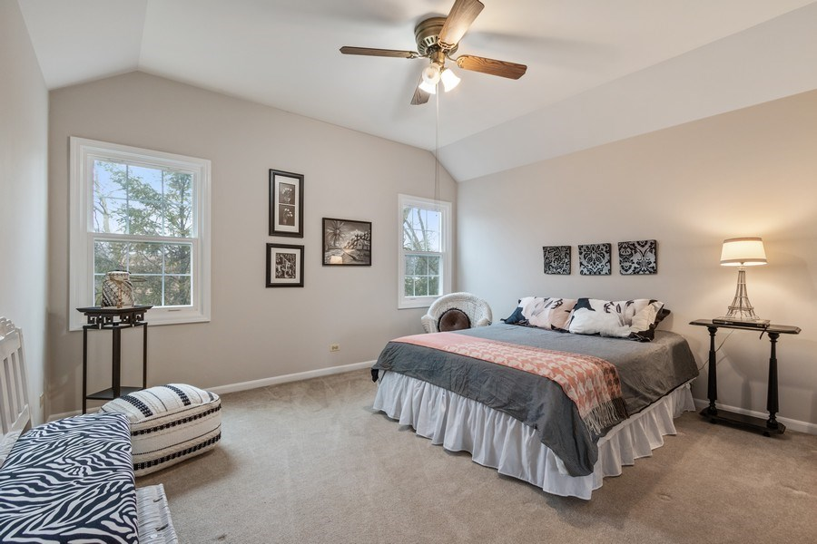 Real Estate Photography - 659 New Bridge Court, Barrington, IL, 60010 - 2nd Bedroom