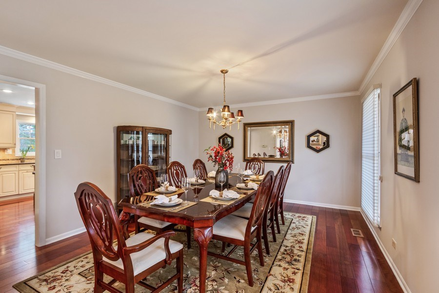 Real Estate Photography - 659 New Bridge Court, Barrington, IL, 60010 - Dining Room