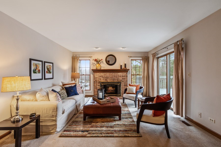 Real Estate Photography - 659 New Bridge Court, Barrington, IL, 60010 - Family Room