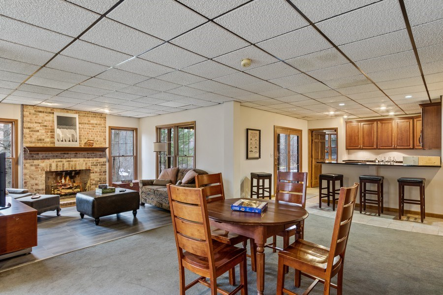 Real Estate Photography - 659 New Bridge Court, Barrington, IL, 60010 - Bar