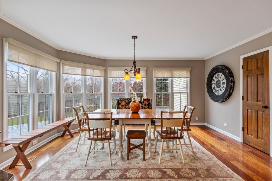 Real Estate Photography - 659 New Bridge Court, Barrington, IL, 60010 - Breakfast Area