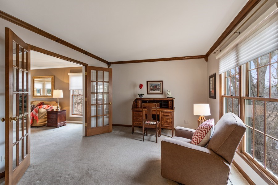 Real Estate Photography - 659 New Bridge Court, Barrington, IL, 60010 - Study