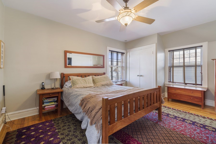Real Estate Photography - 428 Elder Ln., Winnetka, IL, 60093 - Master Bedroom