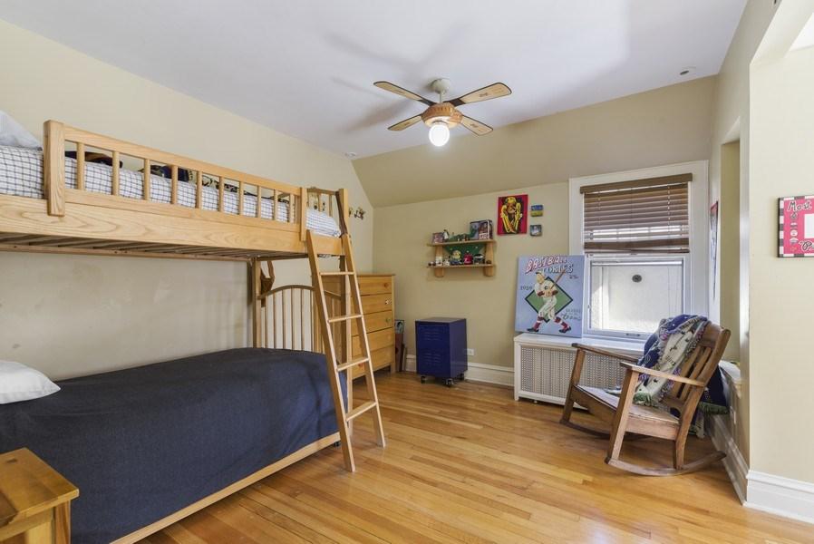 Real Estate Photography - 428 Elder Ln., Winnetka, IL, 60093 - 2nd Bedroom
