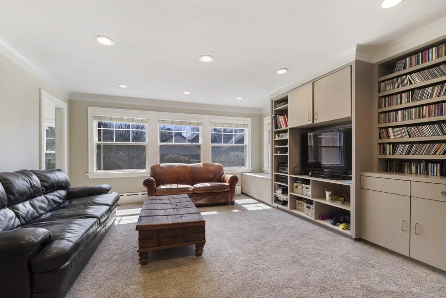 Real Estate Photography - 428 Elder Ln., Winnetka, IL, 60093 - Family Room