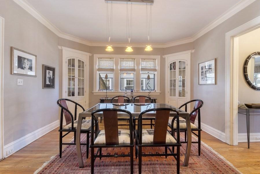 Real Estate Photography - 428 Elder Ln., Winnetka, IL, 60093 - Dining Room