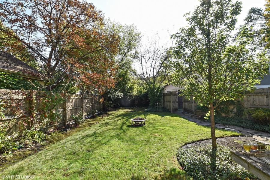 Real Estate Photography - 428 Elder Ln., Winnetka, IL, 60093 - Back Yard
