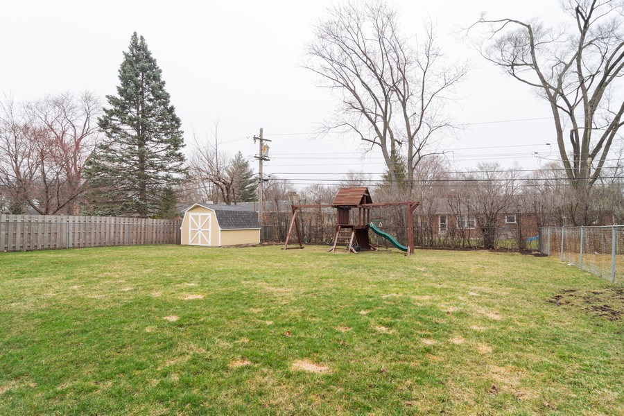 Real Estate Photography - 217 S. Patton Ave., Arlington Heights, IL, 60005 - Back Yard