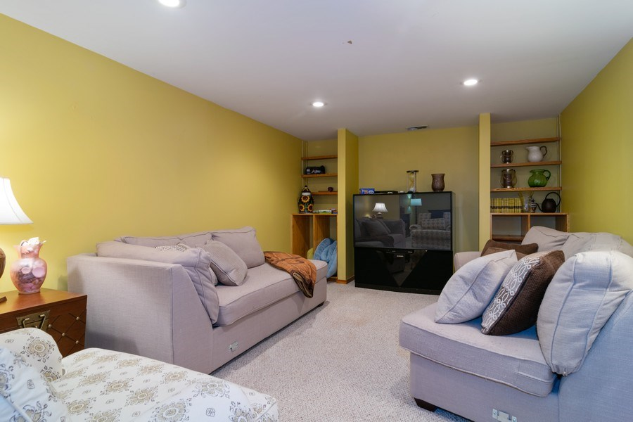 Real Estate Photography - 217 S. Patton Ave., Arlington Heights, IL, 60005 - Recreation Room