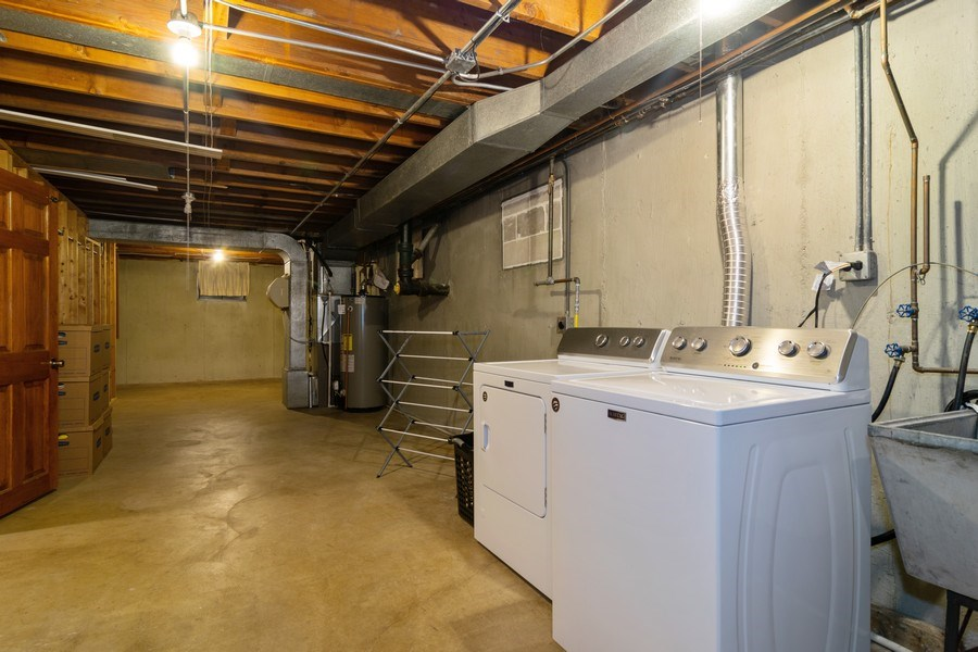 Real Estate Photography - 217 S. Patton Ave., Arlington Heights, IL, 60005 - Laundry & Storage Room
