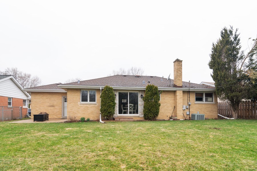 Real Estate Photography - 217 S. Patton Ave., Arlington Heights, IL, 60005 - Rear View