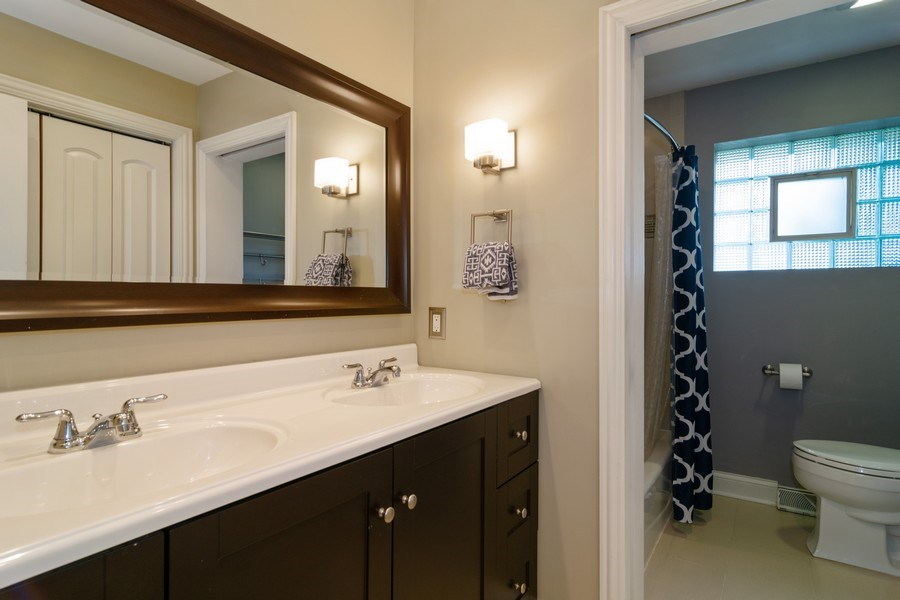Real Estate Photography - 217 S. Patton Ave., Arlington Heights, IL, 60005 - Bathroom
