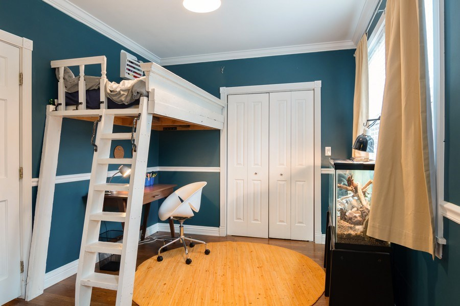 Real Estate Photography - 1219 N. Marion Ct, Chicago, IL, 60622 - Bedroom