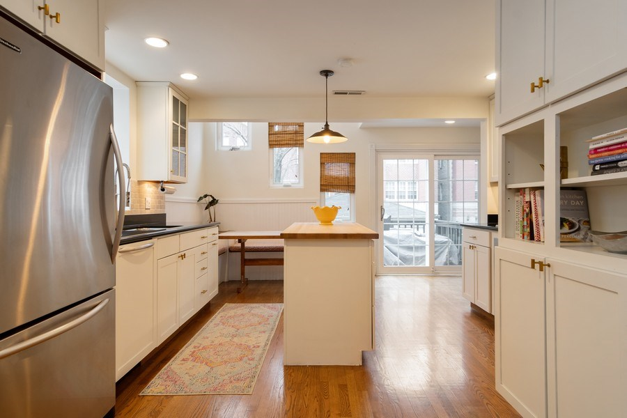 Real Estate Photography - 1219 N. Marion Ct, Chicago, IL, 60622 - Kitchen / Breakfast Room