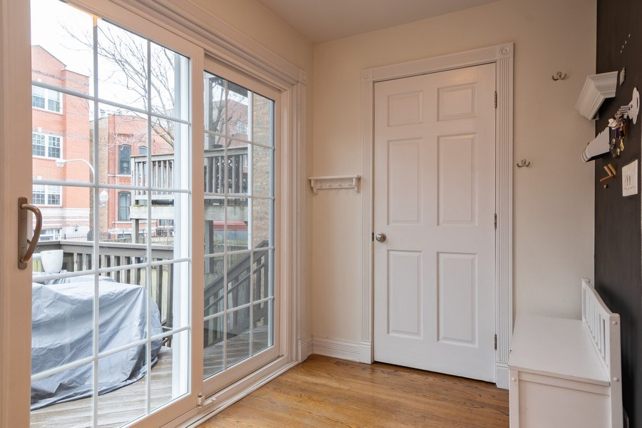 Real Estate Photography - 1219 N. Marion Ct, Chicago, IL, 60622 - Mudroom