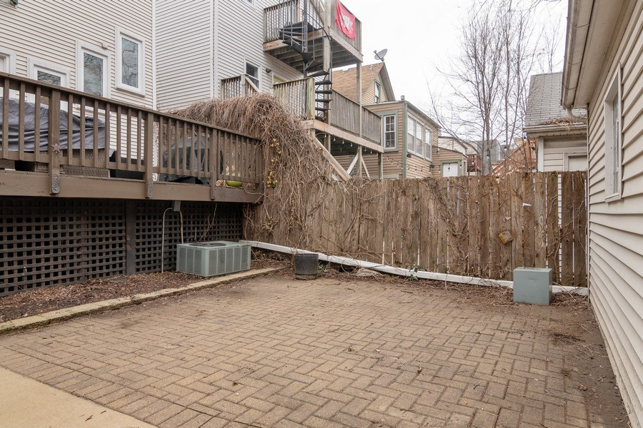 Real Estate Photography - 1219 N. Marion Ct, Chicago, IL, 60622 - Patio