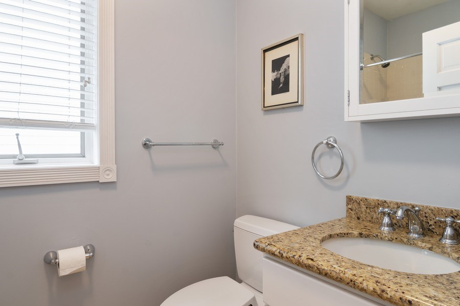 Real Estate Photography - 1219 N. Marion Ct, Chicago, IL, 60622 - 2nd Bathroom