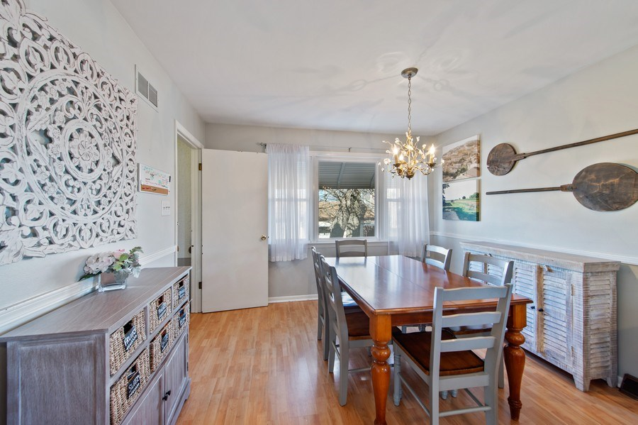 Real Estate Photography - 5514 S Sayre Ave, Chicago, IL, 60638 - Dining Room