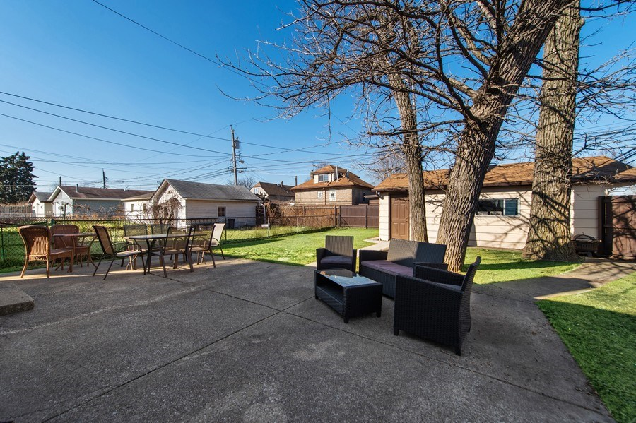 Real Estate Photography - 5514 S Sayre Ave, Chicago, IL, 60638 - Back Yard