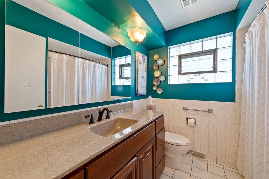Real Estate Photography - 5514 S Sayre Ave, Chicago, IL, 60638 - Bathroom