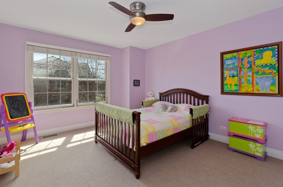 Real Estate Photography - 1601 Cabot Ln, Glenview, IL, 60026 - 4th Bedroom