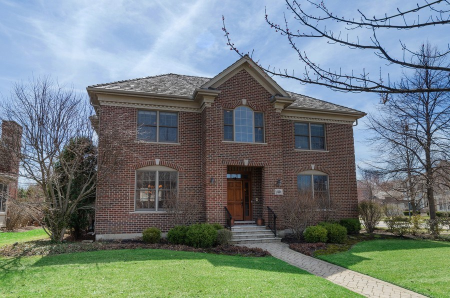 Real Estate Photography - 1601 Cabot Ln, Glenview, IL, 60026 - Front View
