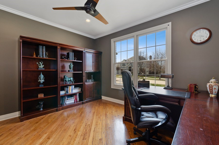 Real Estate Photography - 1601 Cabot Ln, Glenview, IL, 60026 - Office