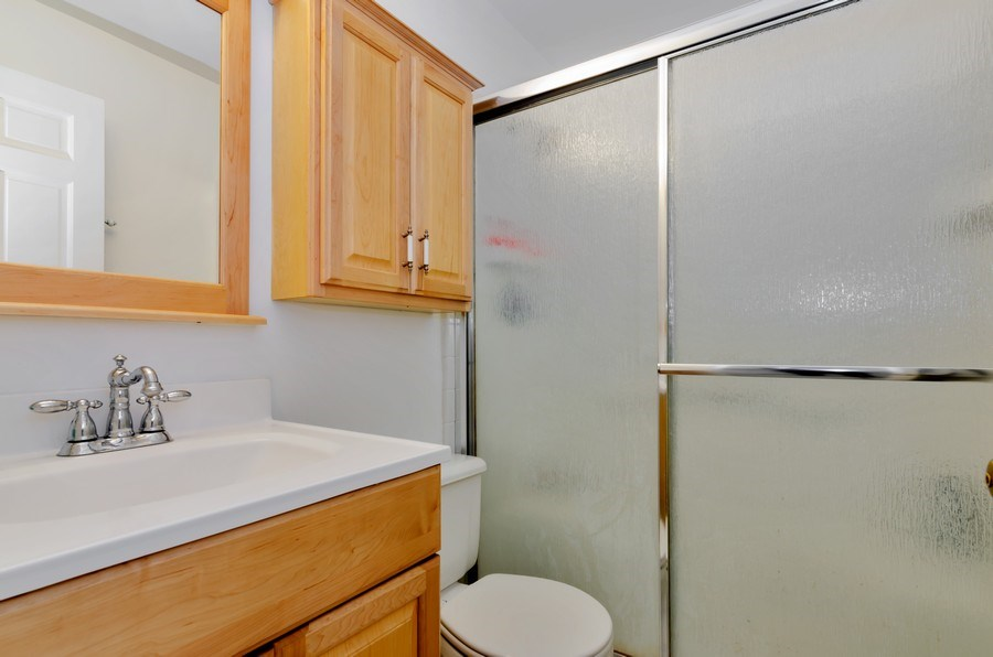 Real Estate Photography - 16 S. Birchwood Dr., Naperville, IL, 60540 - 3rd Bathroom