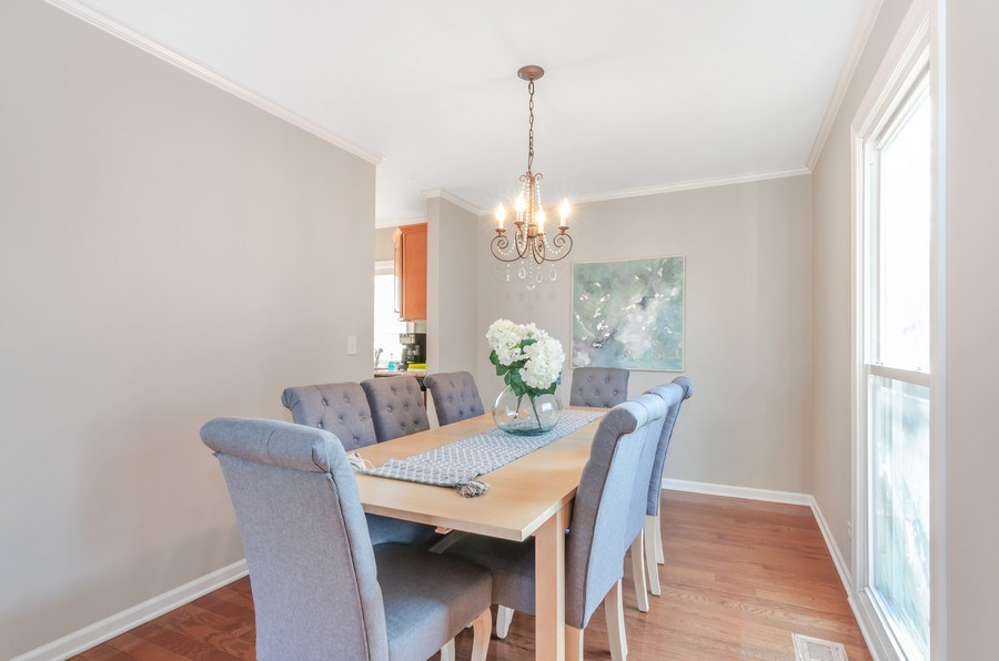 Real Estate Photography - 16 S. Birchwood Dr., Naperville, IL, 60540 - Dining Room