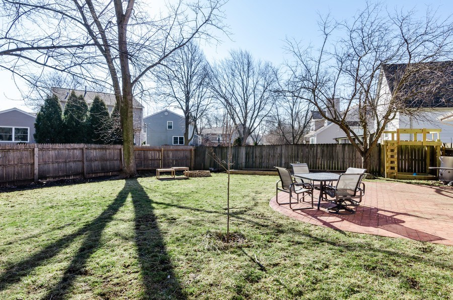 Real Estate Photography - 16 S. Birchwood Dr., Naperville, IL, 60540 - Back Yard