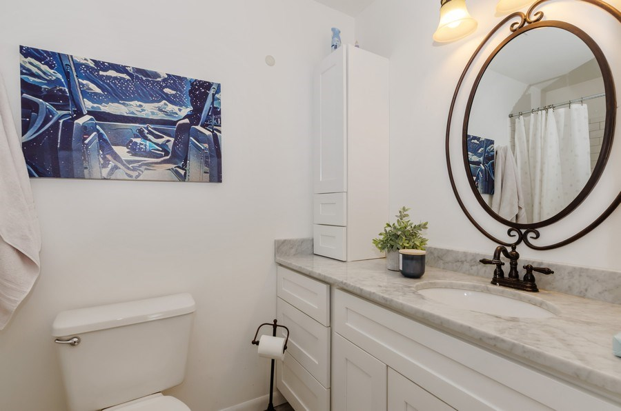 Real Estate Photography - 16 S. Birchwood Dr., Naperville, IL, 60540 - 2nd Bathroom