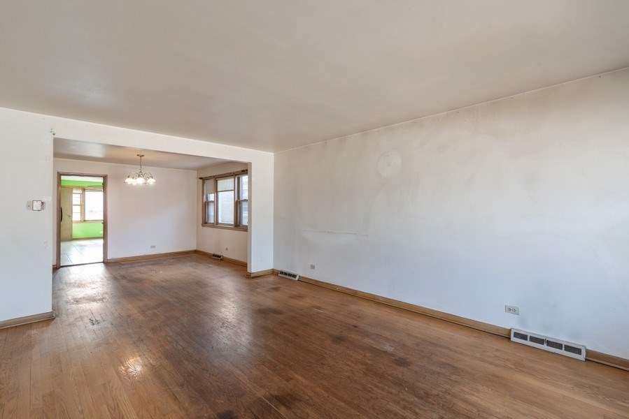 Real Estate Photography - 7825 W. Forest Preserve Drive, Chicago, IL, 60634 - Living Room