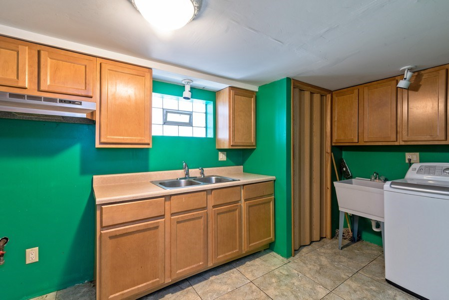 Real Estate Photography - 7825 W. Forest Preserve Drive, Chicago, IL, 60634 - Lower Level